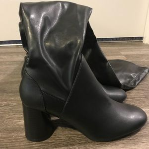 Zara thigh high boots